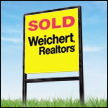 sold real estate sign in Northern Virginia